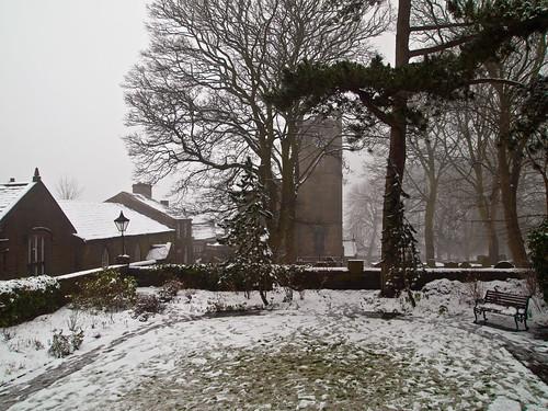 Haworth Parsonage Garden