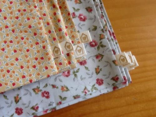 pretty floral pouches