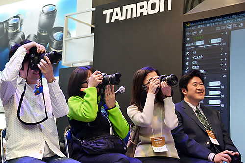 CP+2011 Tamron 07 stage