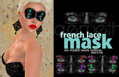 [ a.e.meth ] - French Lace Mask