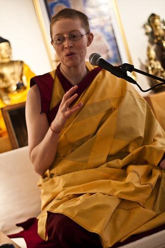 Kelsan Tubchen er hovedlærer på meditasjonskurset