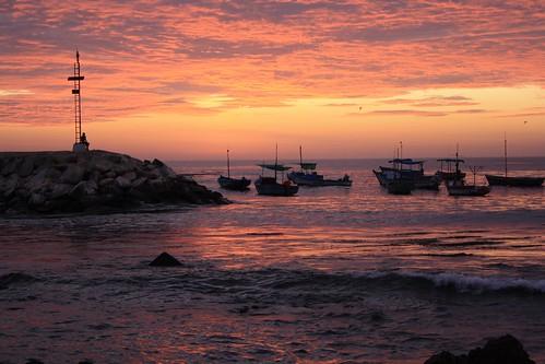 Puerto de Lomas sunset