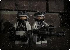 Neo-Nazis (Legtayo) Tags: lego nazi neo custom minigun brickarms legtayor