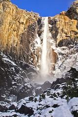 Yosemite In The Winter (JRR) Tags: california winter snow cold water rock waterfall nationalpark bridalveilfalls yosimite