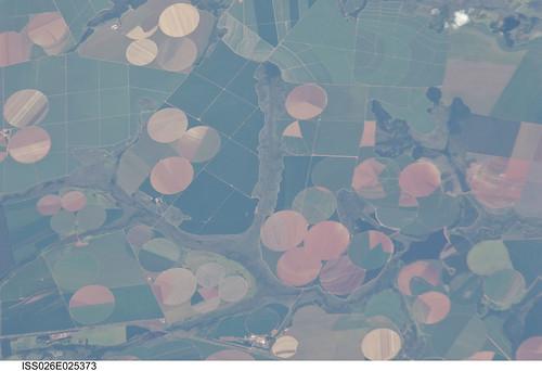 Perdizes, Minas Gerais, Brazil (NASA, International Space Station, 02/10/11)