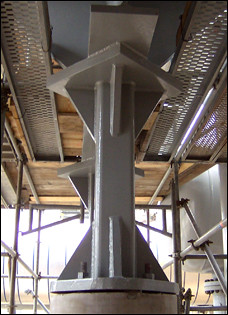 Pedestals and Beams in Operation