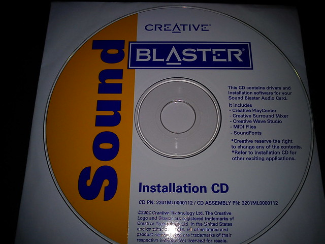 Sound Blaster IDE Cards Drivers Collection [Archive] - Vintage