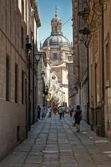 Otra calle de Salamanca (PUAROT) Tags: españa walking photography calle spain nikon d70s catedral sombra salamanca fotografia paseando puarot