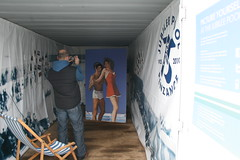 Inside the container (In the Nixon's) Tags: design cornwall container jubileepool cds2011