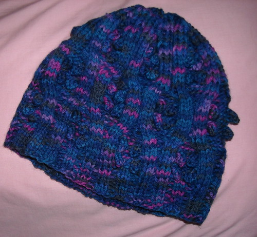 Project #22 Bobbles and Cables Cap