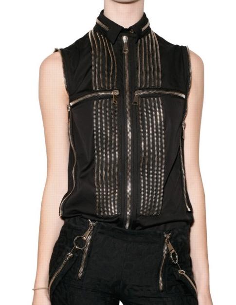 Givenchy SS2011 zipper shirt 1