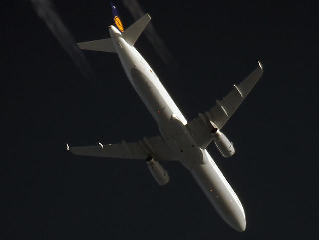 Lufthansa A321 D-AISX