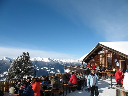 Das Skigebiet Plose oberhalb Brixen im Eisacktal