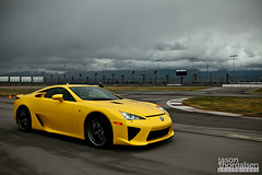 The Collection 92 (Jason Thorgalsen Photography) Tags: california jason cars yellow photo track shoot racing fontana supercar lfa lexus 2011 vod thorgalsen speedracer38