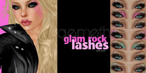 [ a.e.meth ] - Glam Rock Lashes @ Pure Juice