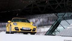 Porsche Turbo (J.B Photography) Tags: museum germany photography power stuttgart 911 exotic turbo porsche jb supercar sportscar 997 carspotting zuffenhausen performence