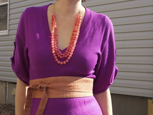 Necklace and Belt Detail