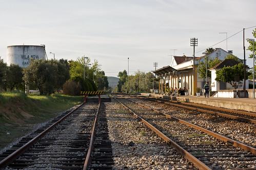 Estação de Vila Nova da Baronia, 2009.04.05