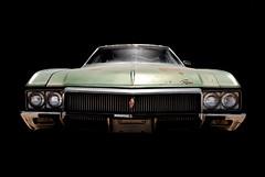 1970 Buick Riviera (Curtis Gregory Perry) Tags: auto black green car dark buick nikon rust automobile riviera background rusty mobil front bumper rusted end motor headlight 1970 grille automvil xe d300 automobil     samochd  kotse  otomobil   hi   bifrei trishield  automobili   gluaisten