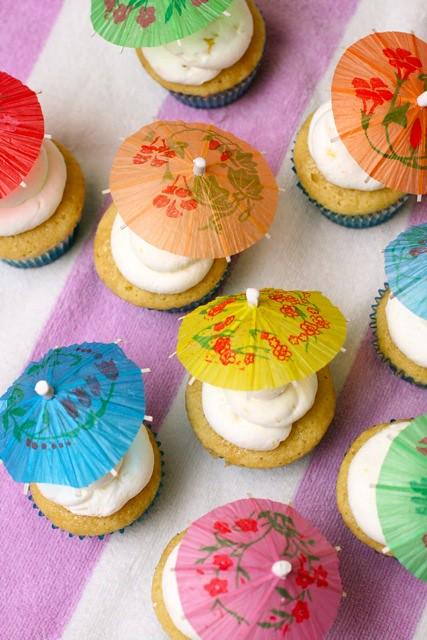 Rum Punch Cupcakes