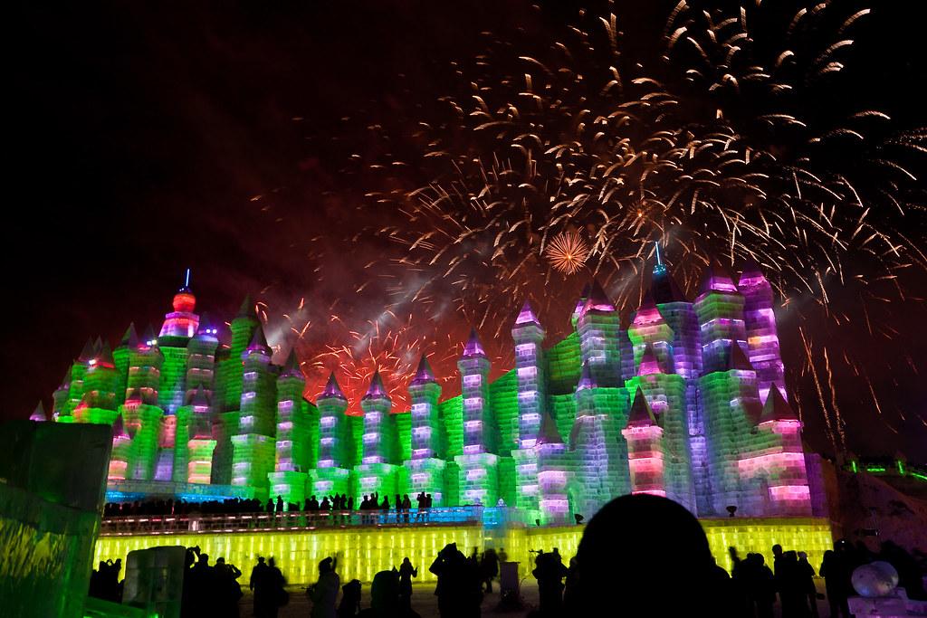 Fireworks in Harbin (哈尔滨)