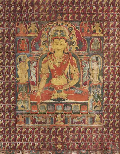 art antique buddha buddhism tibet thangka anthropology symbolism