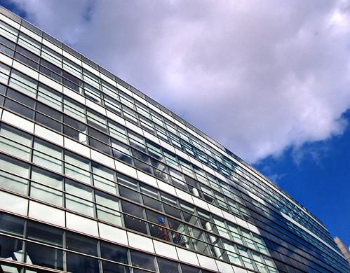 Adidas building, NY