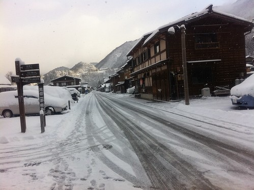 Shirakawa-go in the morning 5