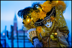 Venice - Carnevale di Venezia - Venice Carnival 2011 (Yen Baet) Tags: venice people italy color festival portraits veneza costume italian colorful europe tourist celebration masks gondola venetian venise venecia venezia venedig sanmarco larva stmarkssquare sangiorgiomaggiore veneto  volto veneti 2011  carnevaledivenezia dogepalace venicecarnival traveldestination bauta  veneti  mascherari