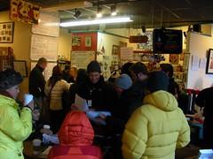 Side Street Espresso on Iditarod day