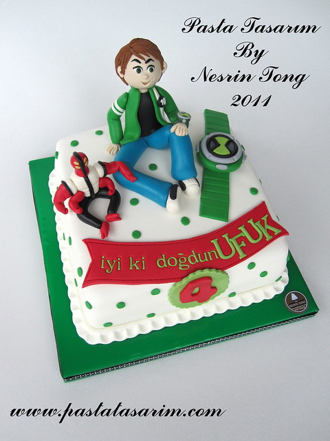 BEN 10 ALLIEN FORCE CAKE - UFUK BIRTHDAY CAKE