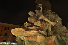 Rio del Plata (HDR) (Federico Violini) Tags: italy rome roma italia piazzanavona bernini hdr hdri particolari riodelplata nikond90 fontaneromane