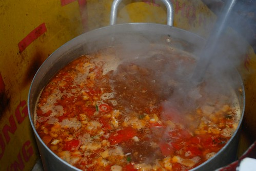 bubbling bun rieu broth