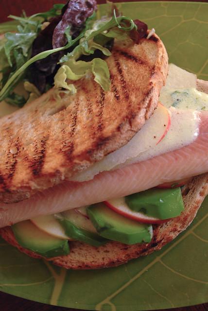 Smoked truit sandwich
