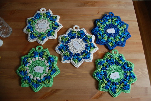 Crochet Potholders (Backs)