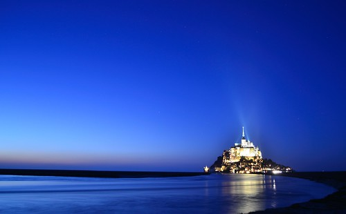 The enchanted island of Mont Saint Michel