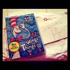 Yay!  We got our winning prize from @baykidsmuseum.  #DrSeuss #contest #winning by solcookie