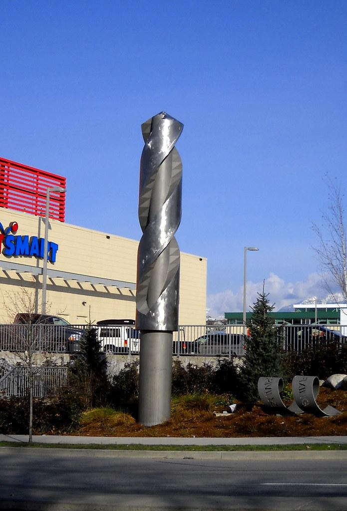 66/365 - Giant Drill Bit