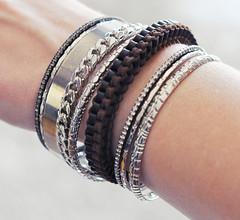 bracelets bangles leather