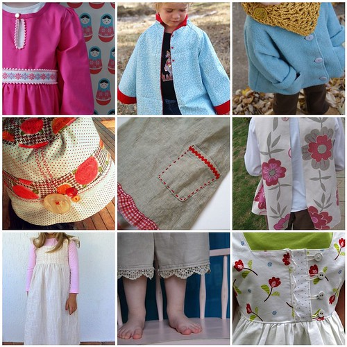 Carefree Clothes for Girls Sew A Long