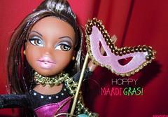 Happy Mardi Gras/Fat Tuesday! :D (alexbabs1) Tags: up all fat tuesday sasha gras mardi bratz glammed