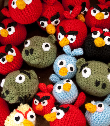Some of my Angry Bird collection