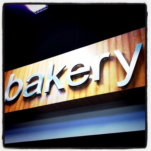 Fresh Bakery sign