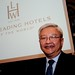 Leading Hotels of the World president, Ted Teng, at ITB Berlin 2011