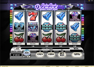 Retro Reels Diamond Glitz™ Slot Machine Game to Play Free in Microgamings Online Casinos