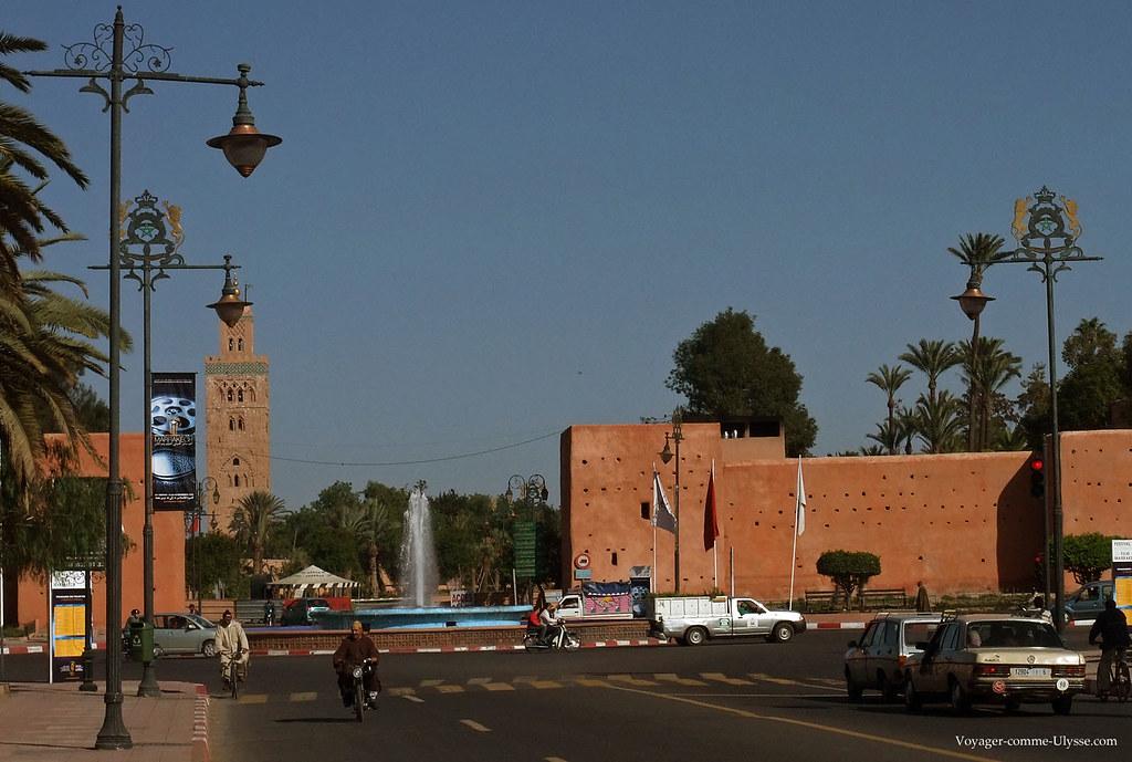 La Koutoubia, la grande mosquée de Marrakech