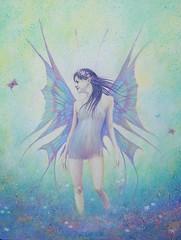 Fairy (Art by MarkAC) Tags: art painting artwork acrylic box canvas fairy