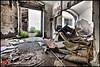 Abandoned industrial archeology (dajethy) Tags: sardegna bw italy white black abandoned bench industrial foto remote cagliari pantelleria rovine panoramiche promote rottami postiabbandonati dajethy dothstyle fabrichedismesse