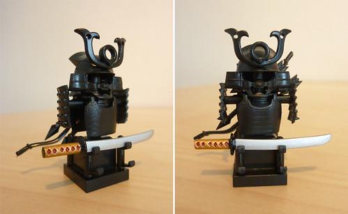 Custom minifig Samurai gear
