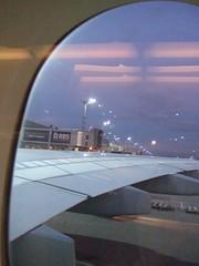 Lufthansa A380 Frankfurt airport
